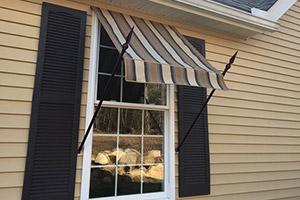 custom window awning